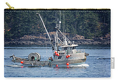 Sun Fisher Off Campbell River Carry-all Pouch
