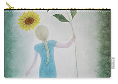 Sun Flower Dance Carry-all Pouch by Tone Aanderaa