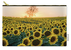 Sun Flowers Iv Carry-all Pouch