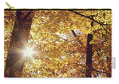Sun In Fall Carry-all Pouch