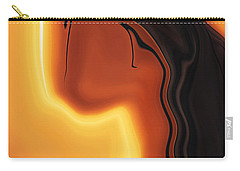 Carry-all Pouch featuring the digital art Sun-kissed by Rabi Khan