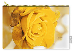 Carry-all Pouch featuring the photograph Sun Kissed Rose by Athala Carole Bruckner