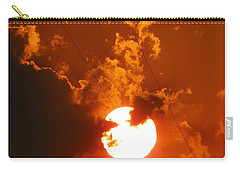 Sun On Fire Carry-all Pouch