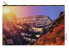 Sun On The Mountain Carry-all Pouch