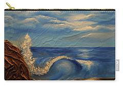 Sun Over The Ocean Carry-all Pouch