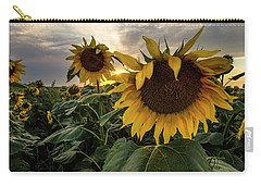 Carry-all Pouch featuring the photograph Sun Rays  by Aaron J Groen