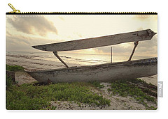 Sun Rays And Wooden Dhows Carry-all Pouch