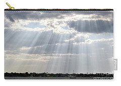 Sun Rays Over Lagoon Carry-all Pouch