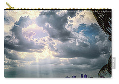 Sun Rays Over Miami Carry-all Pouch