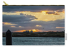Sun Rays Over The Intracoastal  Carry-all Pouch