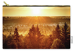 Sun Rising At Swamp Carry-all Pouch