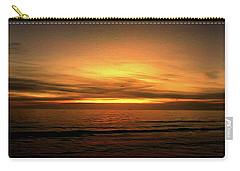 Sun Set On The Gulf Carry-all Pouch