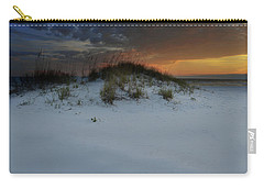 Sun Setting Behind The Dunes 2 Carry-all Pouch