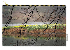 Carry-all Pouch featuring the photograph Sun Shower by Bill Wakeley
