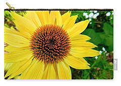 Sun Soaked Echinacea Carry-all Pouch