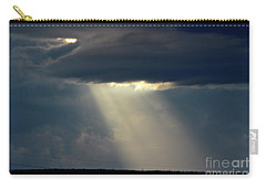 Carry-all Pouch featuring the photograph Sun Stream by Ann E Robson