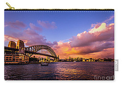 Carry-all Pouch featuring the photograph Sun Up by Perry Webster