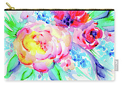 Sun Washed Pink Carry-all Pouch