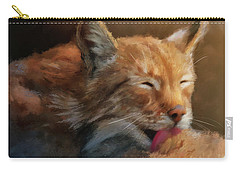 Carry-all Pouch featuring the photograph Sunbathing by Lois Bryan