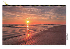 Carry-all Pouch featuring the photograph Sunburst At Sunset by Doug Camara