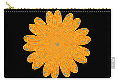 Sunburst Bloom Carry-all Pouch