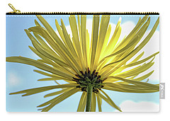 Carry-all Pouch featuring the photograph Sunburst by Judy Vincent