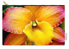 Sunburst Orchid Carry-all Pouch