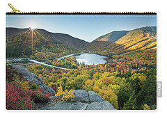 Sunburst Over Franconia Notch Carry-all Pouch