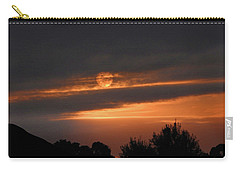 Carry-all Pouch featuring the photograph Suncloud by Mark Blauhoefer