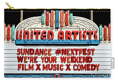 Sundance Next Fest Theatre Sign 1 Carry-all Pouch