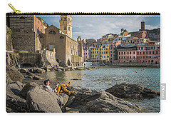 Sunday Afternoon In Vernazza Carry-all Pouch