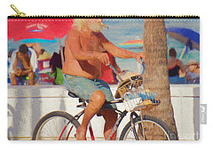 Carry-all Pouch featuring the painting Sunday Afternoon by Judy Kay