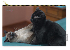 Sunday Afternoon Rumble Carry-all Pouch by Karen Slagle