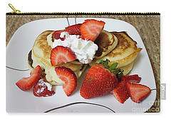 Sunday Breakfast - Food- Kitchen Art Carry-all Pouch by Anne Rodkin