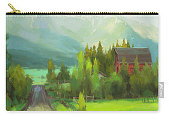 Carry-all Pouch featuring the painting Sunday Drive by Steve Henderson