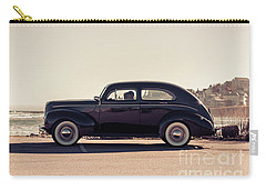Carry-all Pouch featuring the photograph Sunday Drive To The Beach by Edward Fielding