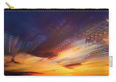 Sunday Morning Coming Down Carry-all Pouch by Karen Slagle