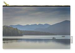 Carry-all Pouch featuring the photograph Sunday Morning Fishing by Chris Lord