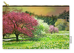 Carry-all Pouch featuring the photograph Sunday My Day by Diana Angstadt