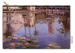 Sunday Reflections - Water Lilies Carry-all Pouch