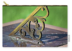 Sundial In The Garden Carry-all Pouch