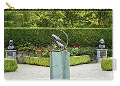 Sundial In The Rose Garden Carry-all Pouch