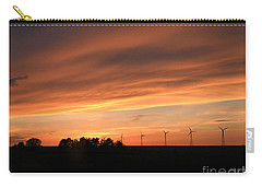 Sundown And Silhouettes Carry-all Pouch