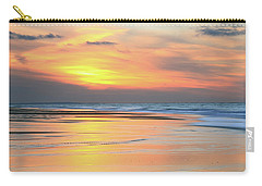 Sundown At Race Point Beach Carry-all Pouch by Roupen  Baker