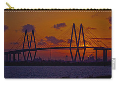 Sundown In Baytown Carry-all Pouch