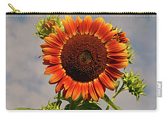 Sunflower 2016 2 Of 5 Carry-all Pouch by Tina M Wenger