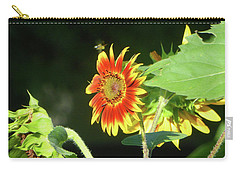 Sunflower 2016 4 Of 5 Carry-all Pouch by Tina M Wenger