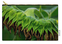 Carry-all Pouch featuring the photograph Sunflower 2017 1 by Buddy Scott