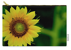 Carry-all Pouch featuring the photograph Sunflower 2017 10 by Buddy Scott