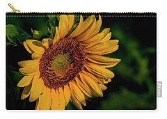 Carry-all Pouch featuring the photograph Sunflower 2017 11 by Buddy Scott